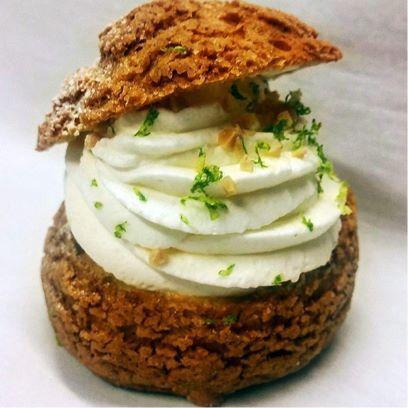 Recette du chou chantilly sur la page Facebook du Chef !!  #chou #chantilly