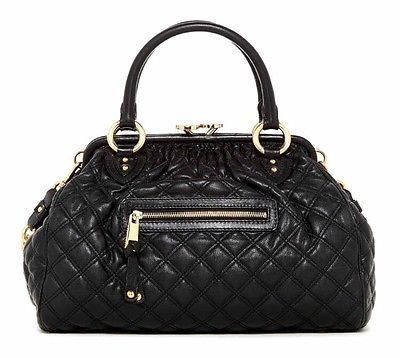 MARC-JACOBS-Little-Stam-Dimond-Quilted-Leather-Cross-Body-Bag-BLACK