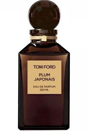 Atelier d'Orient Plum Japonais Tom Ford for women The fragrance features japanese plum, saffron, cinnamon, immortelle, plum blossom, camellia, agarwood (oud), amber, benzoin, fir and vanilla.