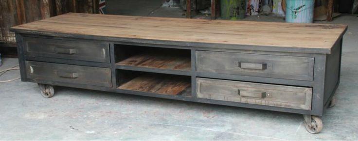 Cool TV cabinet idea