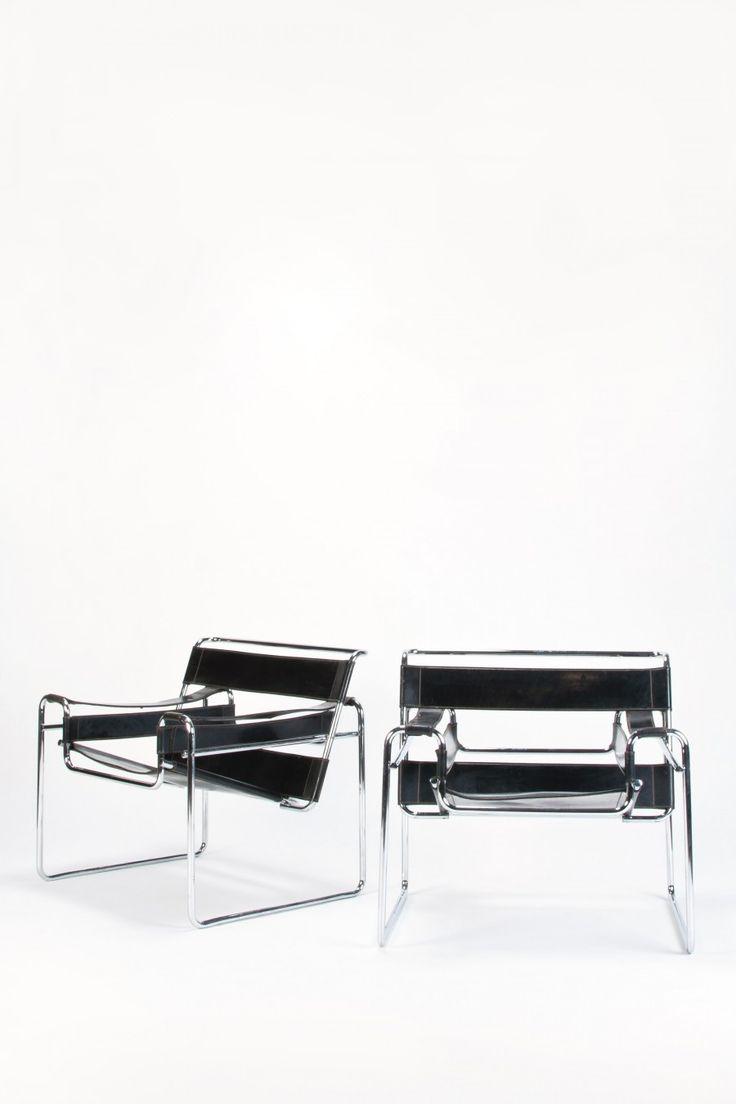 2 marcel breuer wassily chairs okay art breuer wassily
