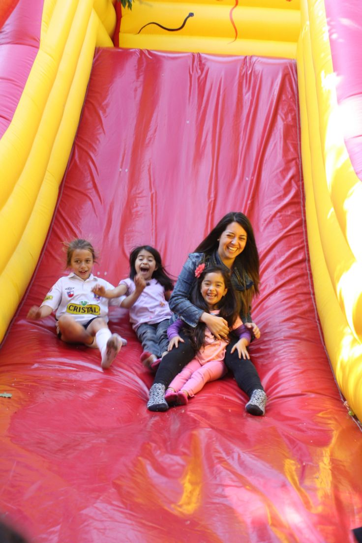 Que la diversión sea para los niños y para sus padres