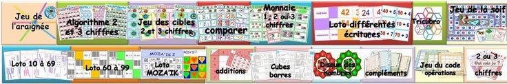 Quelques jeux de maths