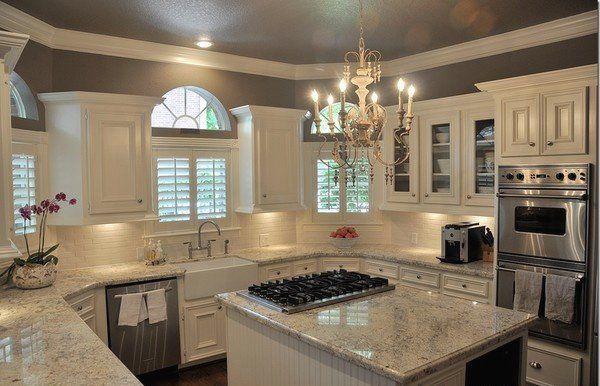 Bancada cozinha granito cinza andorinha