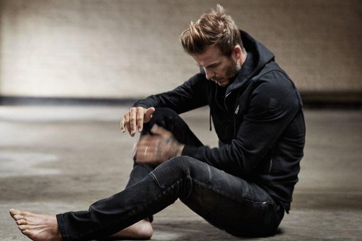 David Beckham posa para el Sr. Porter Shoot, charlas Estilo Personal