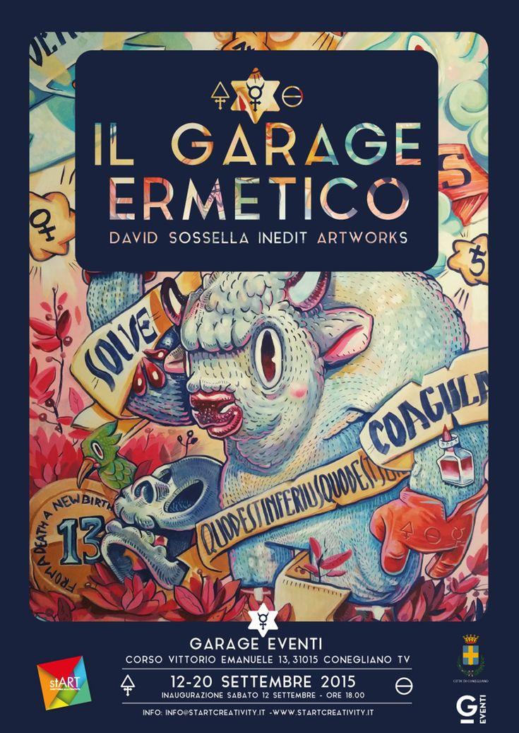 Il Garage Ermetico, mostra di pittura di David Sossella