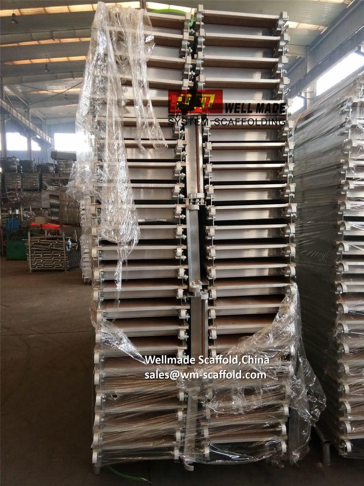 Welmade Scaffold,China: Aluminium Scaffolding Planks to Canada For Masonry scaffolding frames-sales@wm-scaffold.com