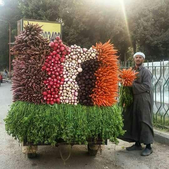 Egyptian Vegetable Vendor