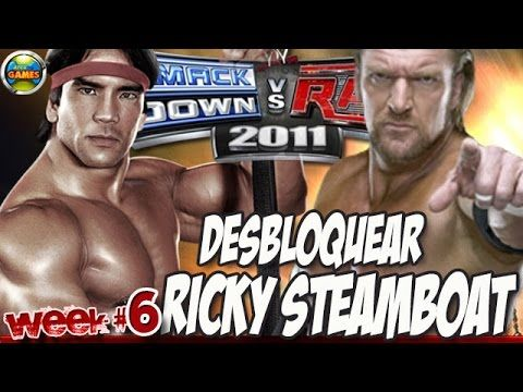 WWE Desbloquear Ricky Steamboat Week #6 SvR 2011