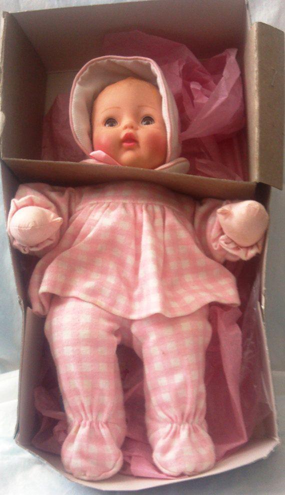 1977 Madame Alexander Little Huggums Doll by VictorianWardrobe, $14.99