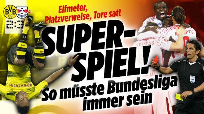 Borussia Dortmund gegen RB Leipzig - Bild.de