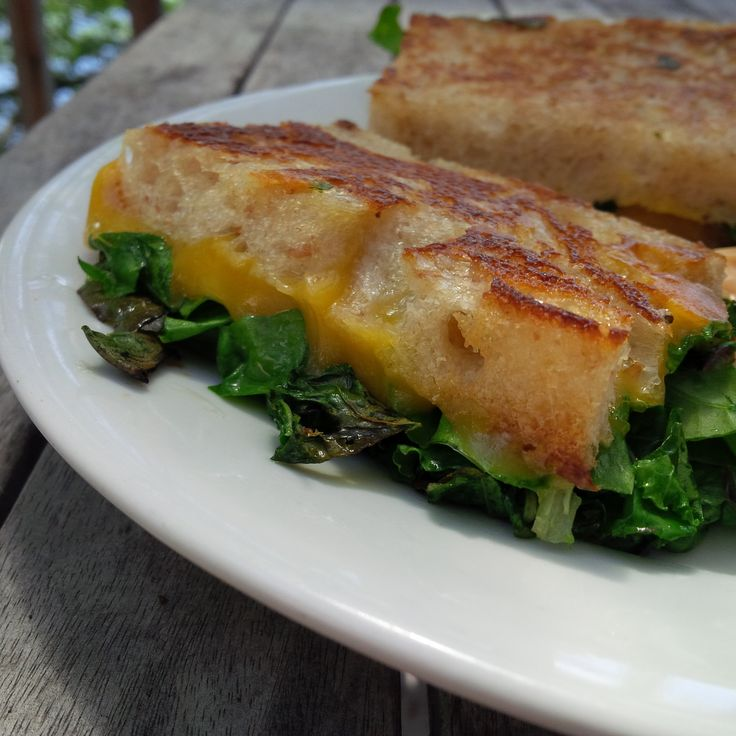 Kale and Swiss Chard Grilled Cheese | Grilled Cheese! | Pinterest ...