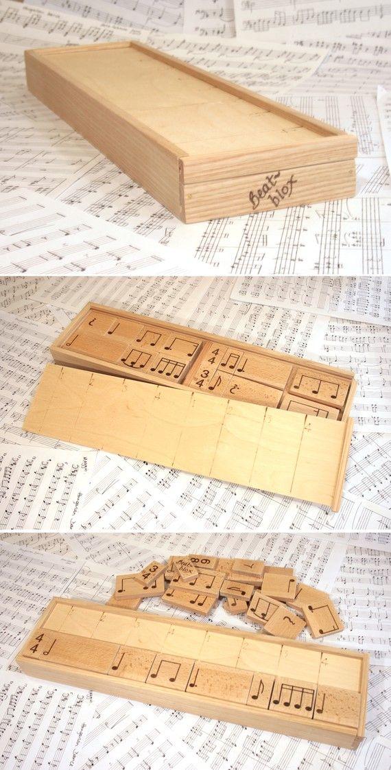 as a music teacher, love this simply idea!