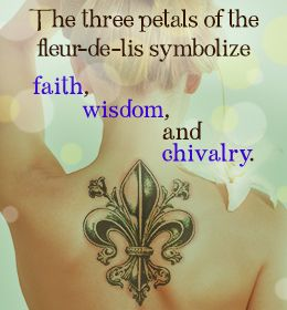 Fleur-de-lis tattoo design and meaning