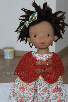 "Viviane 18"" handmade doll north coast dolls"