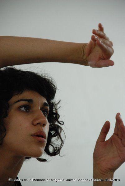 """Zaira Ballesteros en el Curso """"La dramaturgia del Actor"""" en el MUAC"""