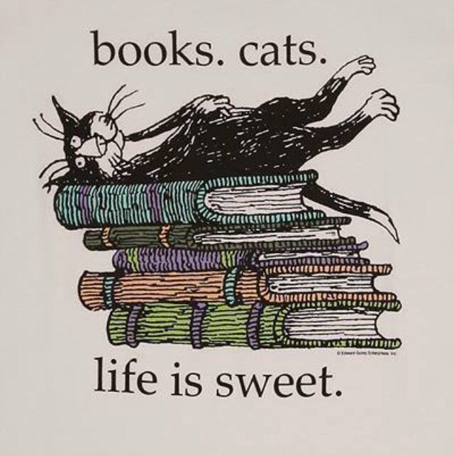 Books & Cats