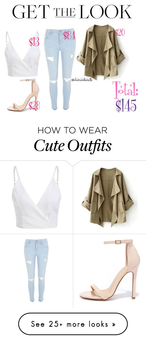 """Cute Outfit"" by diavianshanelle on Polyvore featuring Liliana, River Island and cute"