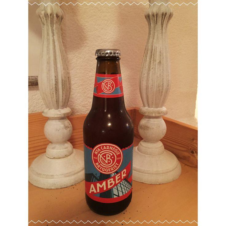 NYA Carnegie Bryggeriet Amber, Sweden, Home Januar 2018 #Prost #biertagebuch #Bier