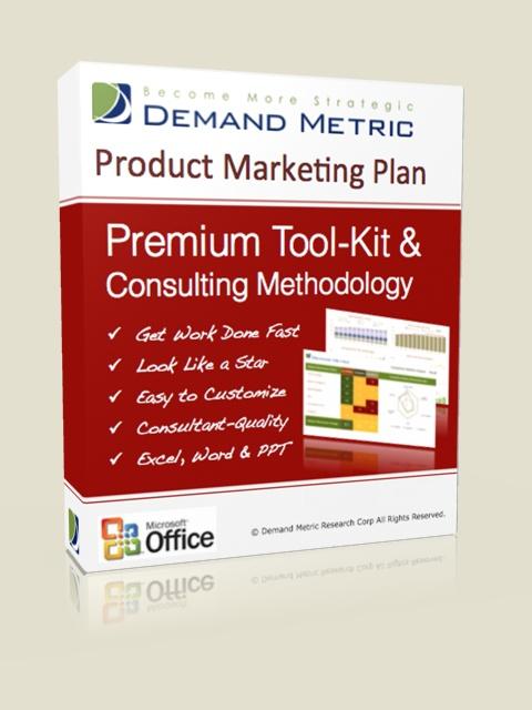 Product Marketing Plan Methodology & Premium Tool-Kit