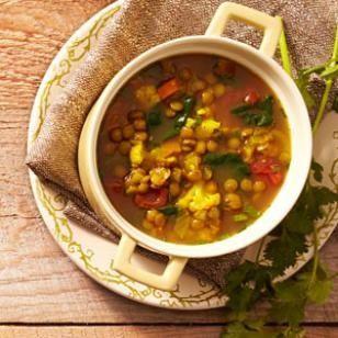 Slow cooker moraccan lental soup