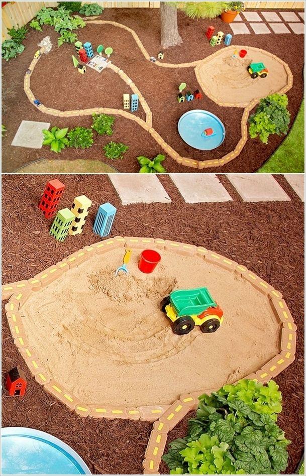 Amazing Interior Design 5 Cool DIY Sandbox Ideas for Your Kiddos