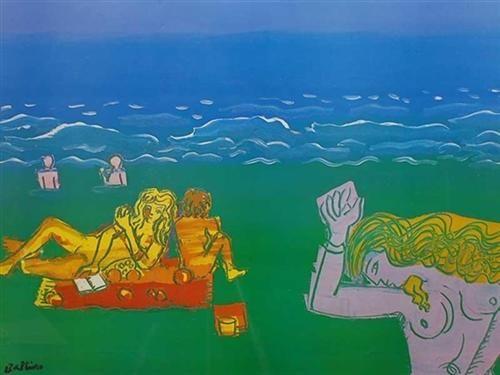Green Beach - Walter Battiss