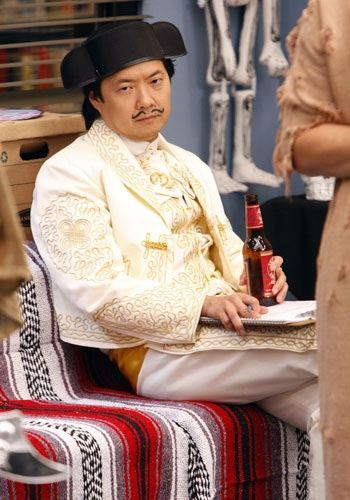 Ken Jeong as Senor Chang... Steals the show (Community) every time as the Spanish professor from hell.