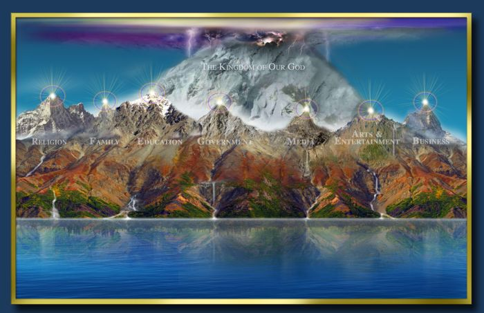 Seven Mountain Strategy - (Matthew 6:10, Isaiah 32:1-4) Let it be so!