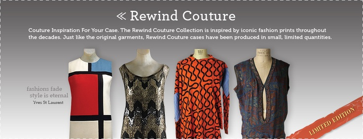 Rewind Couture Limited Collection from inspiremycase.com    Which dress do you think was the most iconic?