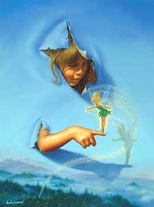 Peter Pan - Making Friends - Jim Warren - World-Wide-Art.com - $625.00
