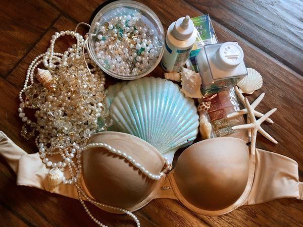 Make a Mermaid Top – DIY Shell Bra