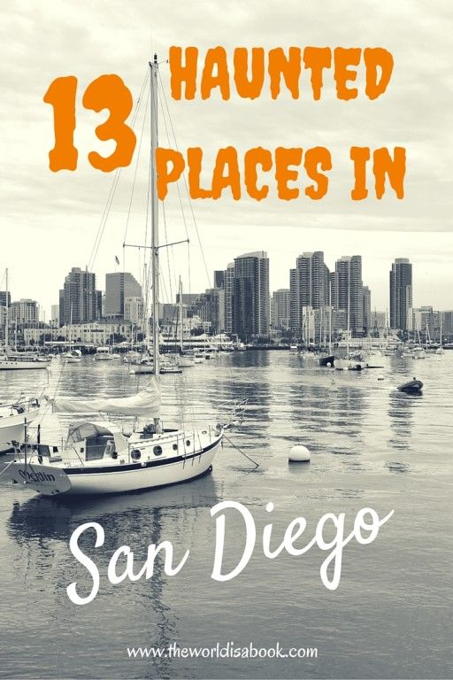 13 Haunted Places Around San Diego, California USA. Read on to see if one of your favorite attractions has some paranormal activity.