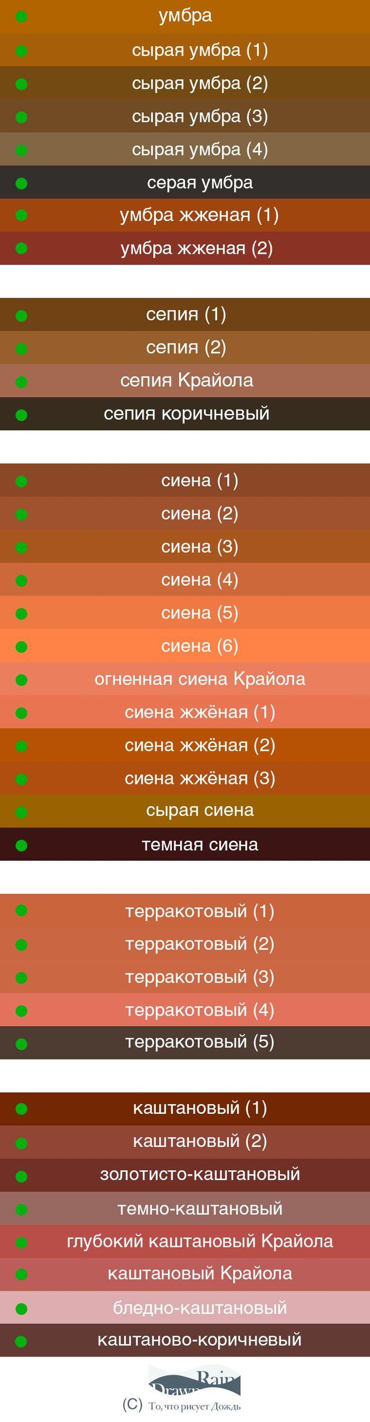 И снова о мокаччино, имбире и блохах: учимся различать оттенки коричневого - Ярмарка Мастеров - ручная работа, handmade
