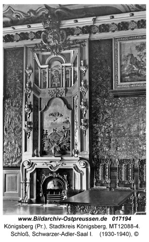 Königsberg, Schloß, Schwarzer-Adler-Saal I - 1930-40