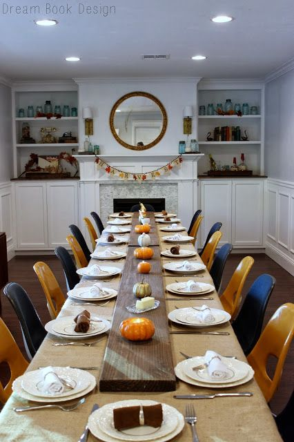 If you are hosting this year's Thanksgiving dinner, check out this tablescape to get some inspiration on how to decorate your home for the holidays.