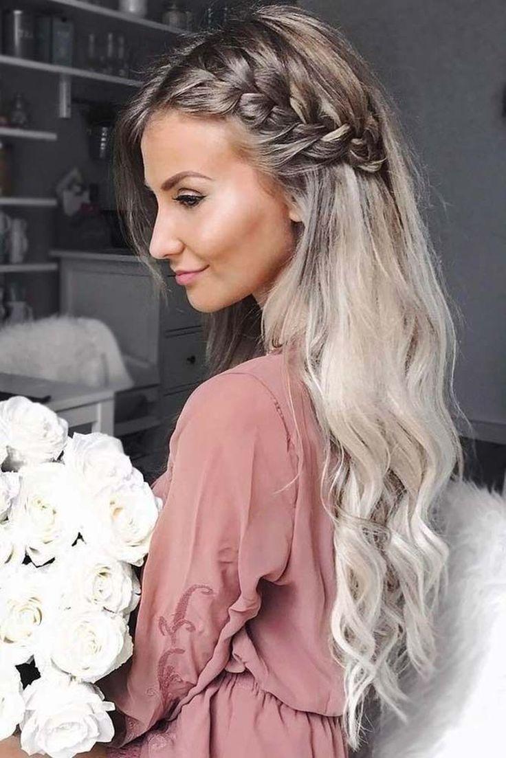 45 charmante romantische Frisuren Ideen zum Valentinstag  #charmante #frisuren #…