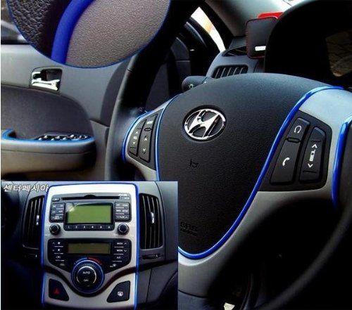 3D DIY Automobile Car motor Interior Exterior Decoration Moulding Trim Strip line Sticker-Blue - http://www.when-to-change-oil.net/exterior-accessories/3d-diy-automobile-car-motor-interior-exterior-decoration-moulding-trim-strip-line-sticker-blue/