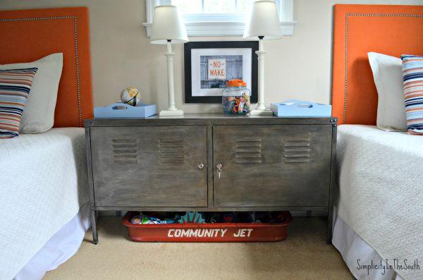 Faux Aged Steel Ikea Cabinet Inspired By Restoration Hardware-LOVE!!