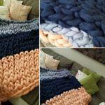 #märchenwolle #kuscheln #blau #handarbeit #streifen #warm #doityourself #selfmade #decke #kammzug #rosa #selbstgemacht #bunt #handwerk #gemütlich #diy