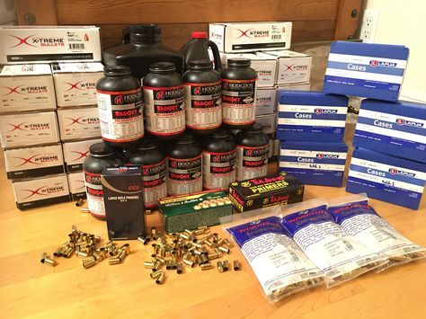 There's so many places to buy reloading supplies online. Find out where we and other high-output reloaders get our powder, primers, cases, and bullets.