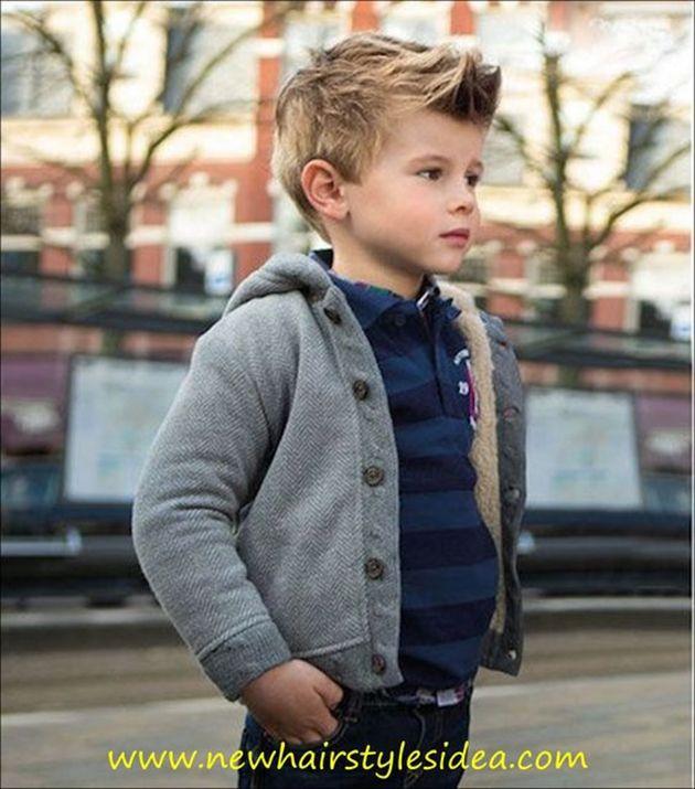 20 coiffures super stylées pour votre petit boy ! - Tendance coiffure                                                                                                                                                                                 Plus