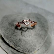 mavi öpücük r279 2014 yeni toptan moda yapay elmas kalp ucuz kadınlar için yüzük(China (Mainland))