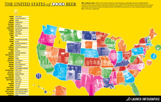 UPDATE: Map: The United States of GOOD Beer