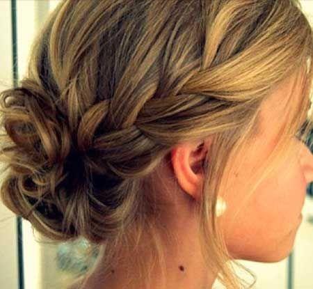 24 besten geflochtenen Hochsteckfrisuren Prom Frisuren, Zöpfe, geflochtene Brötchen, Side Braid, Französisch Braid, Brötchen, Hochsteckfrisur, Hochzeit