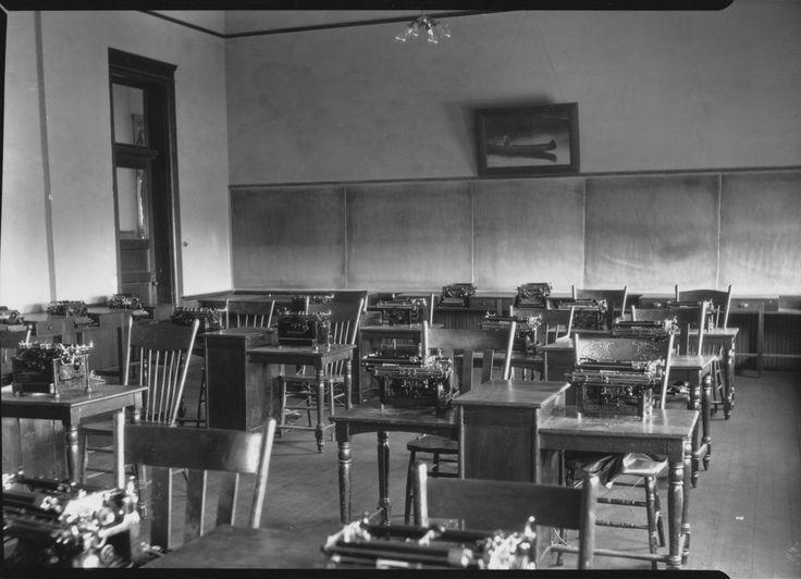 Typing Laboratoryat A Local School Hays, KS    June 1931