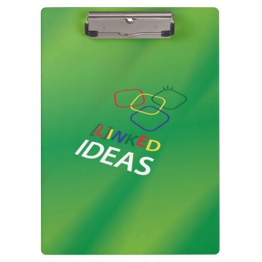 Clipboard with a happy and playful design