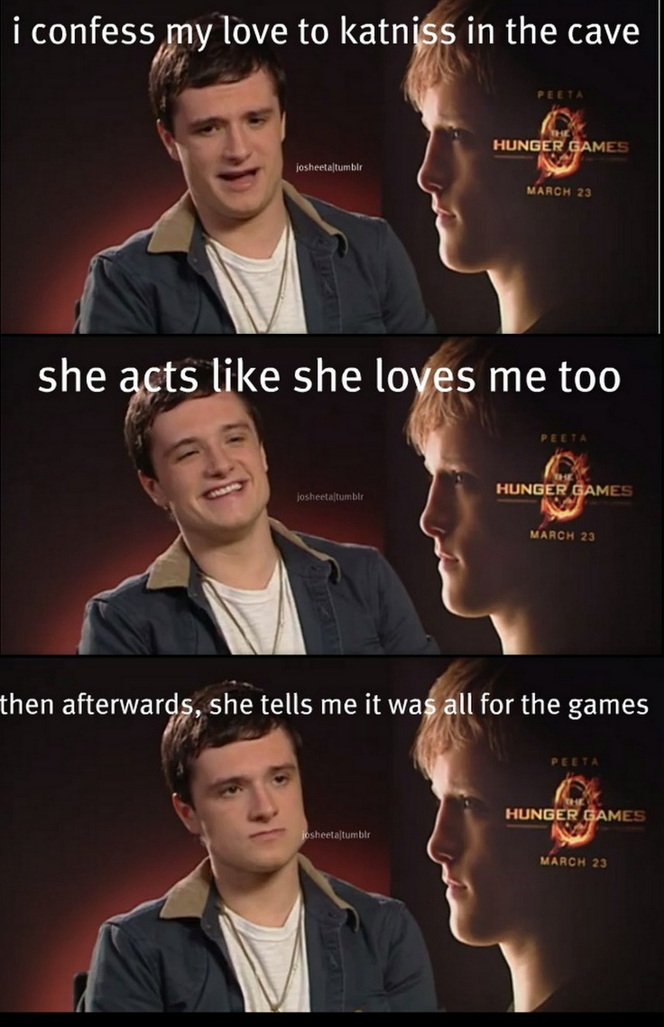 What pictures represent katniss everdeen yahoo answers - Poor Peeta But I Cant Help But Laugh Xd