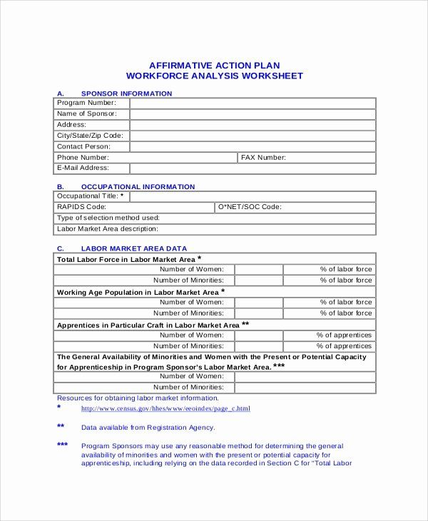 25 Sample Affirmative Action Plans In 2020 Affirmative Action