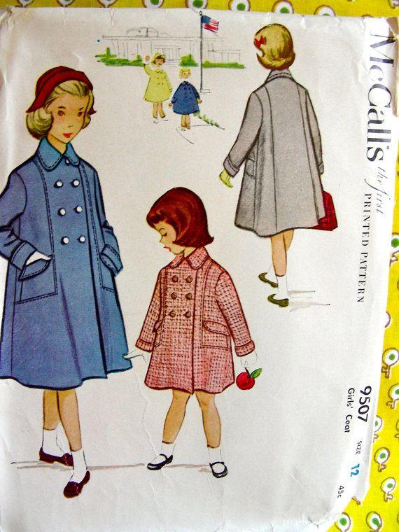 169 best 5. VINTAGE 1950s COATS, JACKETS & HATS PATTERNS images on ...